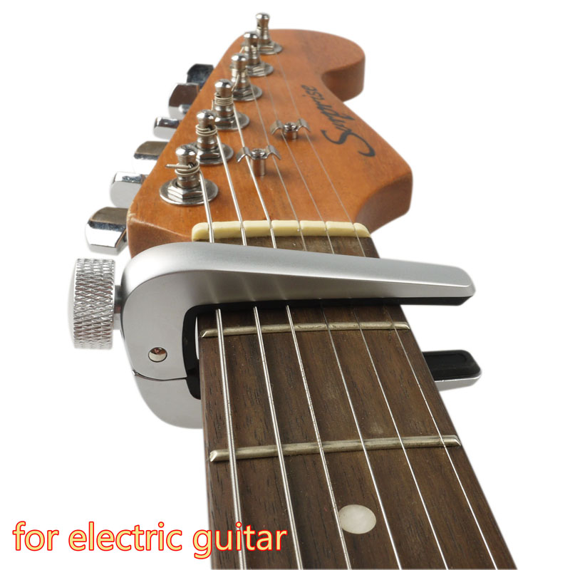 quick change universal bass guitar capo electric guitar clamp tune key alloy ebay. Black Bedroom Furniture Sets. Home Design Ideas