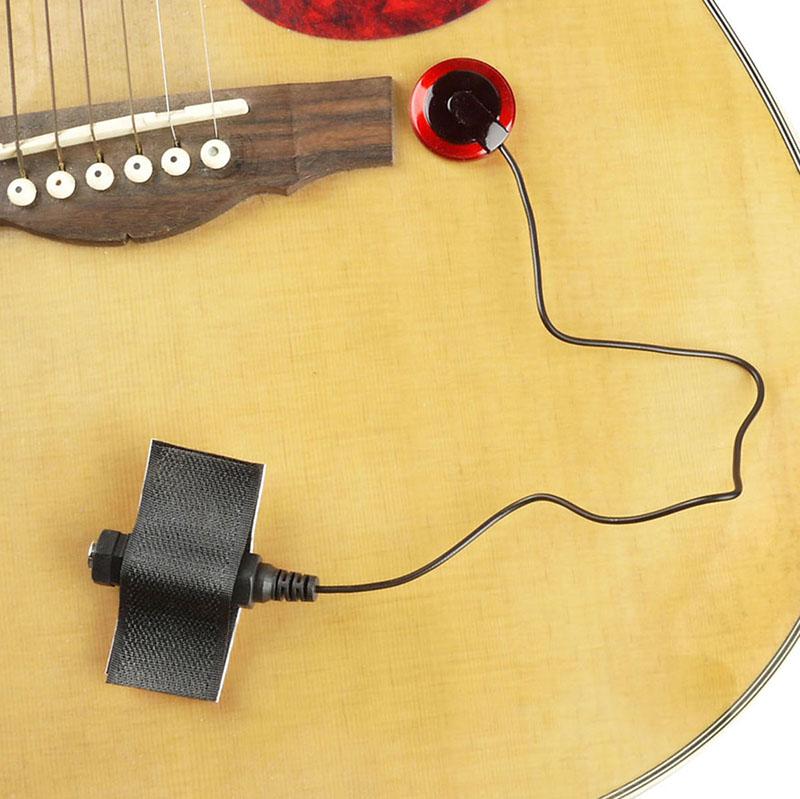 Acoustic Piezo Pickup Contact Microphone For Guitar Violin Ukulele