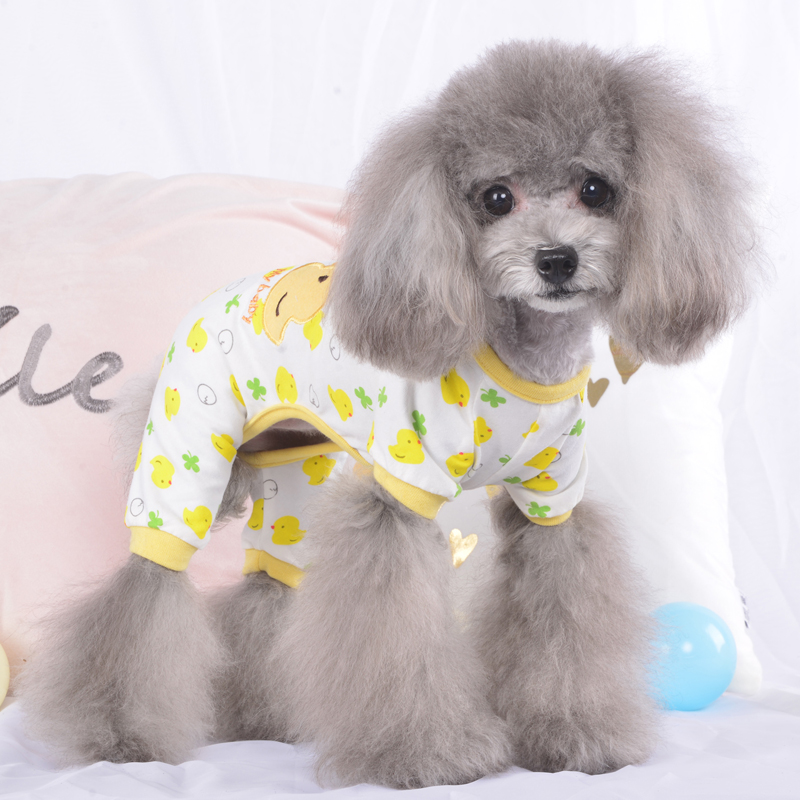Adorable Small Pet Dog Pajamas Cotton Chihuahua Yorkie Clothes Cat Sleeping  Wear 931e1a397