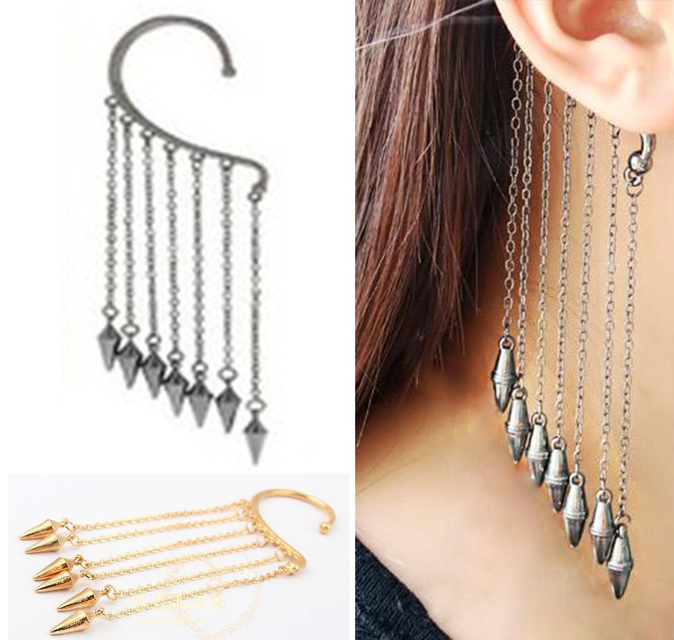 plated silver bar item ear from tone box fashion vintage jacket in woman stud gold color earrings pair lotus jewelry doreen metal