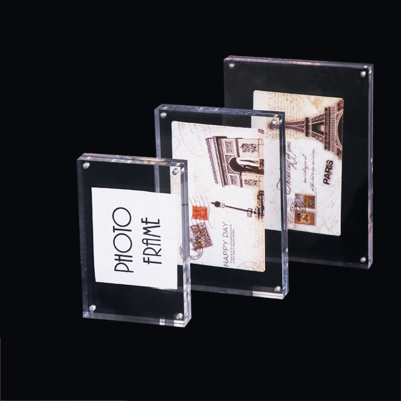 Details about Transparency Clear Acrylic Plate Plexiglass Sheet Photo Frame  A4 A5 A6 AU Stock