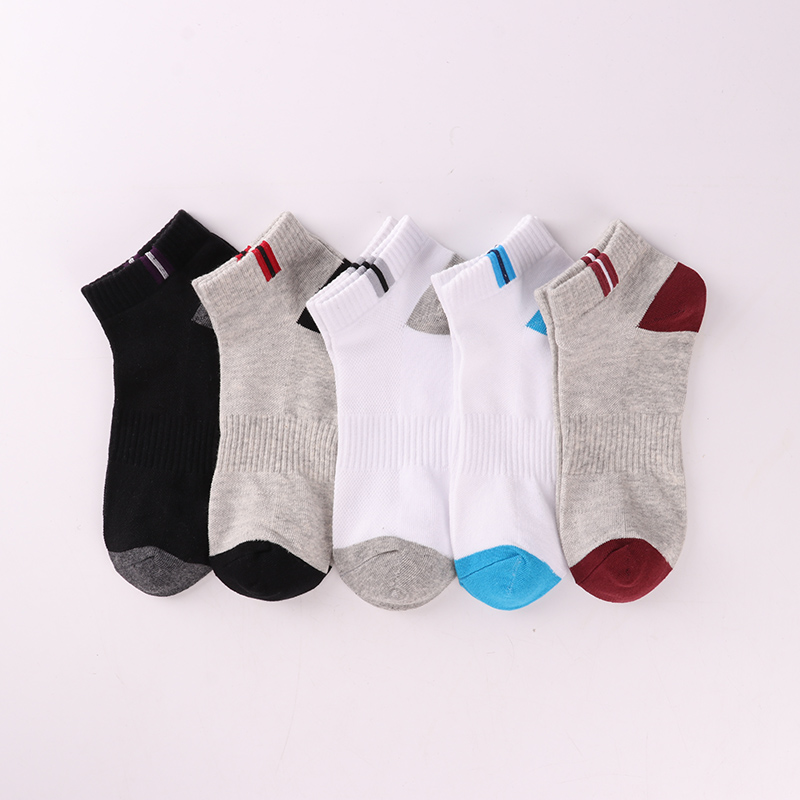 5//10 Mens Ankle Socks Low Cut Sports Breathing Running Crew Cotton Casual Socks