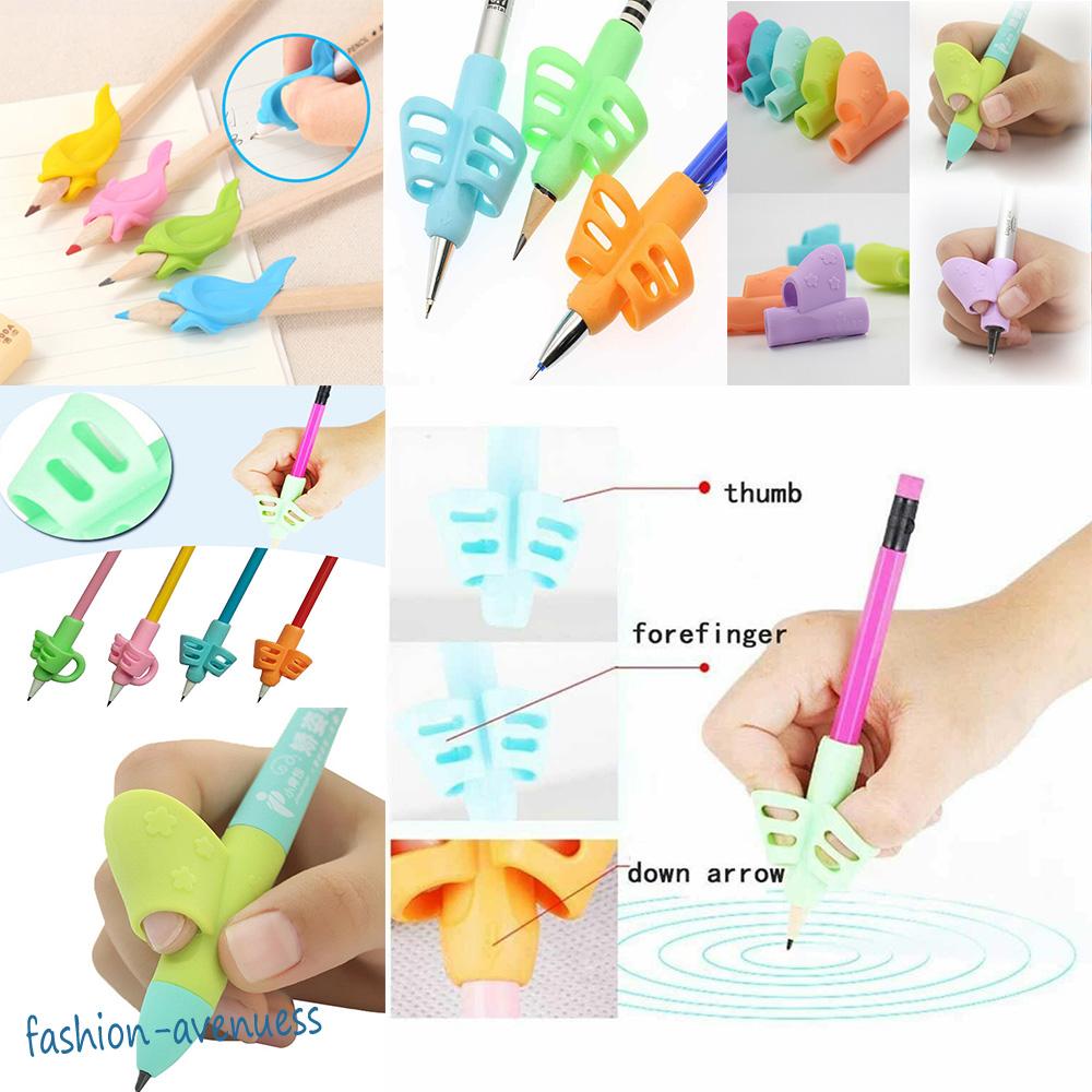 New Children Pencil Holder Pen Writing Aid Grip Posture Correction Device Z1Q7