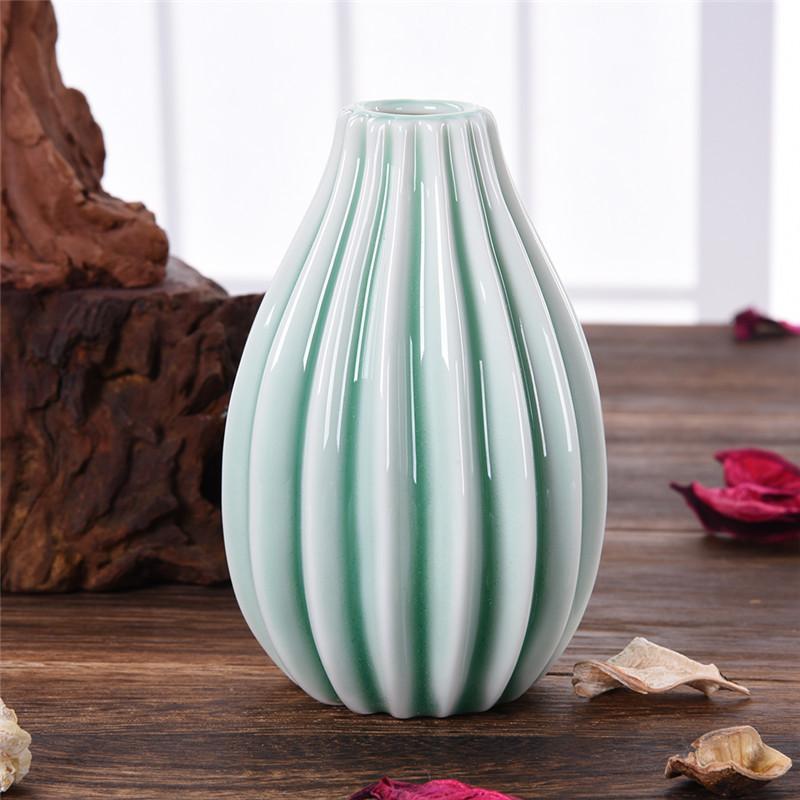 Beautiful Porcelain Vase Table Top Matte Ceramic Vase Flower Vase ...