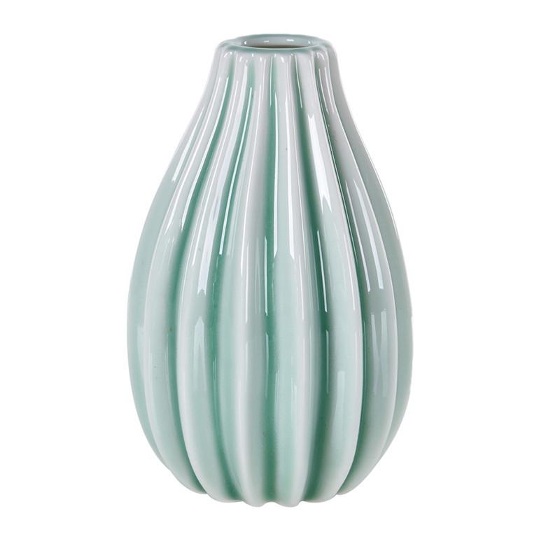 Small Pottery Ceramic Flower Vase Mini Porcelain Planter Receptacle Home Decor Ebay