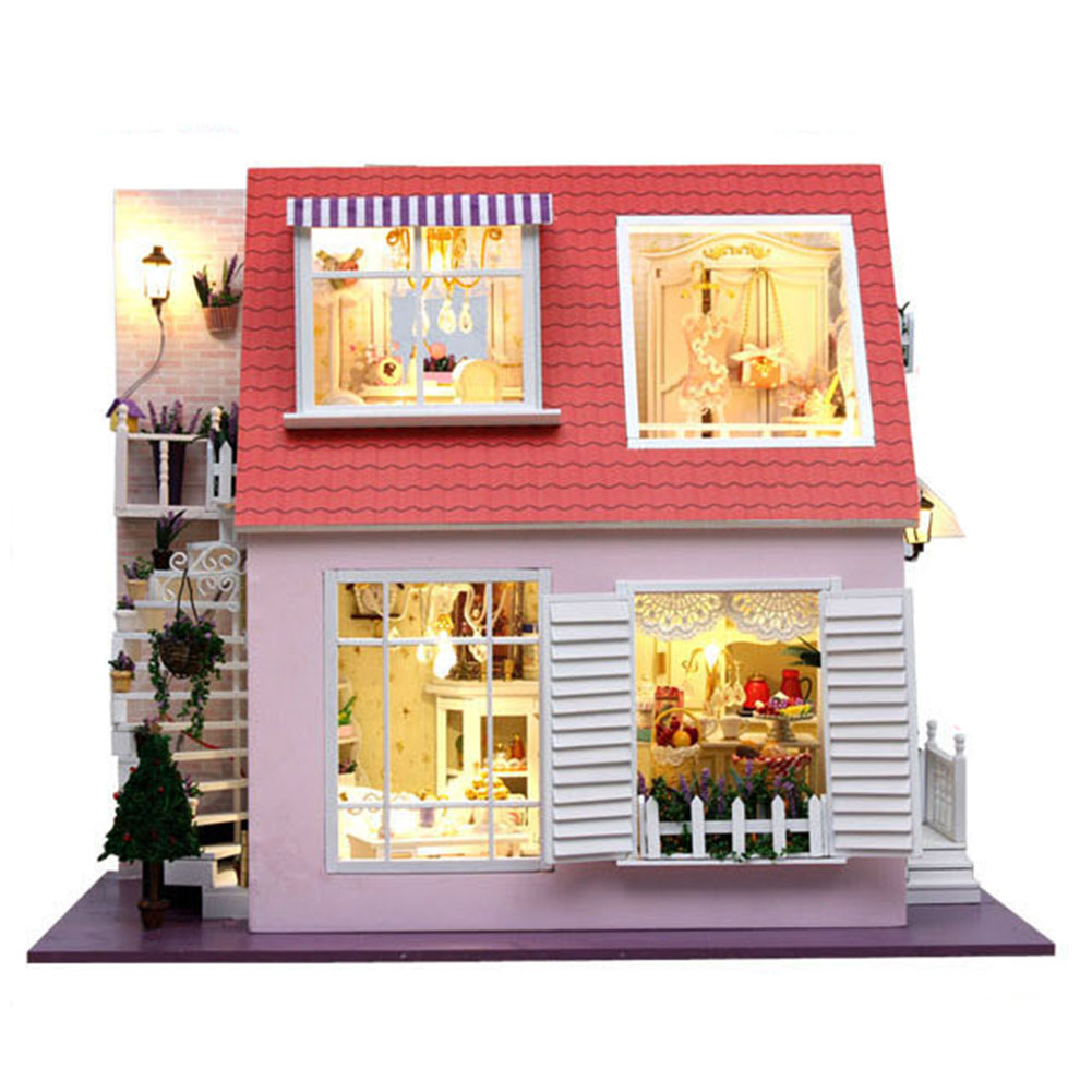 DIY Barbie Vintage Doll House Victorian Dollhouse Furniture Wooden - Dolls house interior
