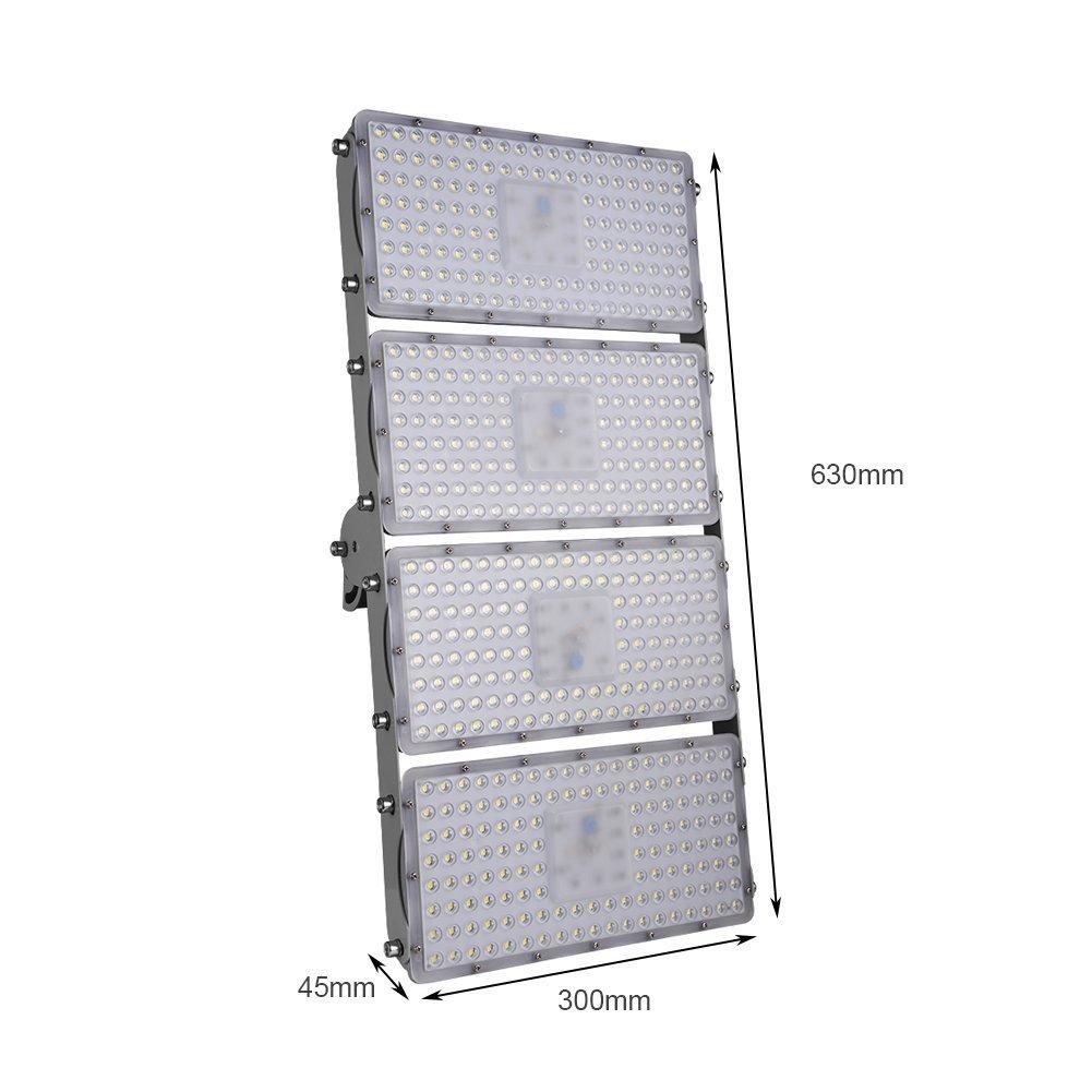 400W LED Fluter Modul Außen Strahler Scheinwerfer Flutlicht Kaltweiß ip65 DHL
