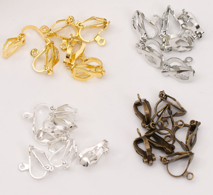 50pcs Crown Shape Beads Charms Jewelry Making Findings for DIY Craft Earring