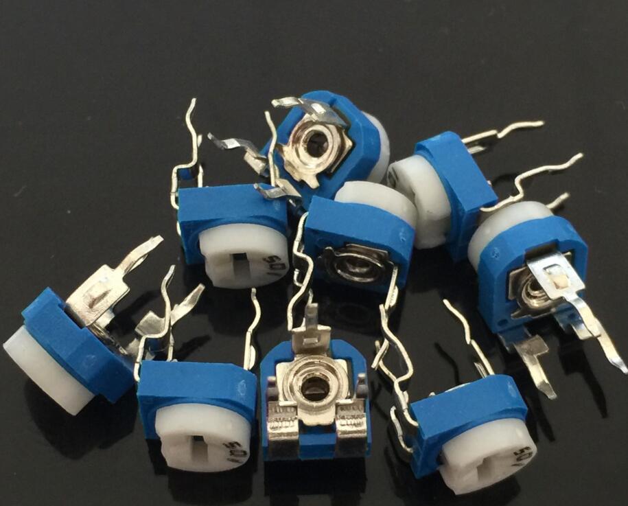 DZ910 500R OHM Trimpot Trimmer Potentiometer Pot Variable Resistor RM065-501 ✿