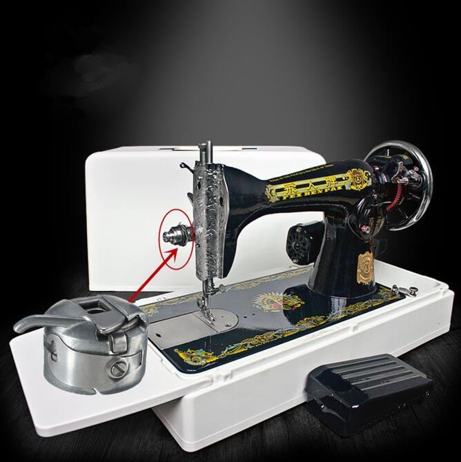 Brother Sewing Machine Bobbin Case Problem: Domestic Sewing Machine Metal Bobbin Spool Case For