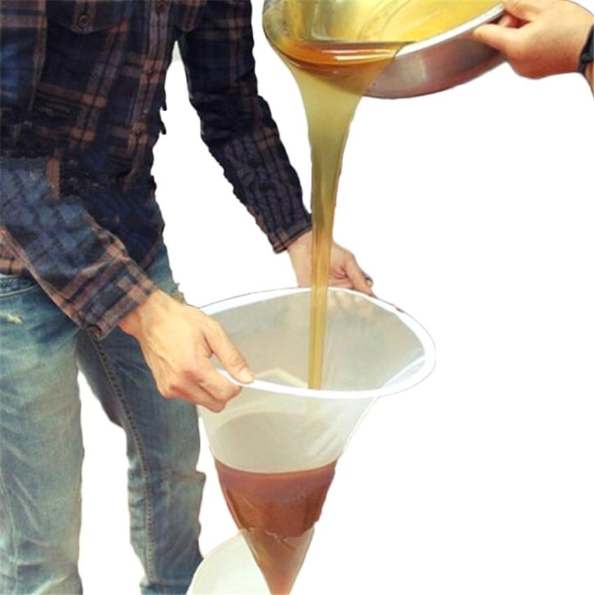 Beekeeping Honey Strainer Filter Purifier Fiber Net Sieve Apiary Equipment Tool