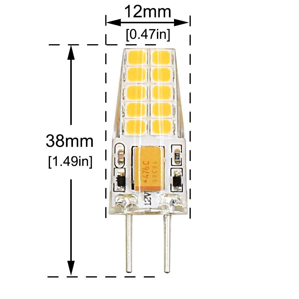 g6 35 led light bulb 3w gy6 35 led bi pin t3 t4 jc type 30w halogen