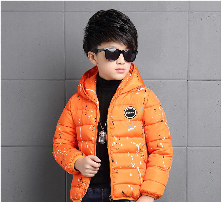 4-14Y-Kids-Boys-Cotton-Quilted-Padded-Jacket-Puffer-Coat-Hooded-Parka-snowsuits thumbnail 23