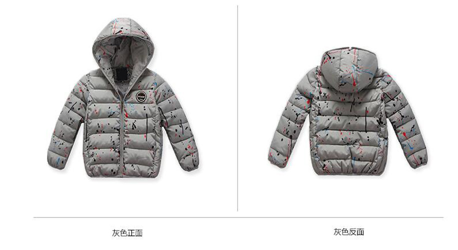 4-14Y-Kids-Boys-Cotton-Quilted-Padded-Jacket-Puffer-Coat-Hooded-Parka-snowsuits thumbnail 17