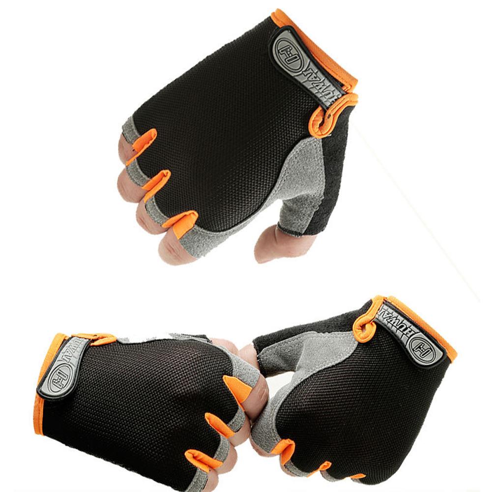 Men Women Sport Cycling Half Finger Gloves Gym Fitness