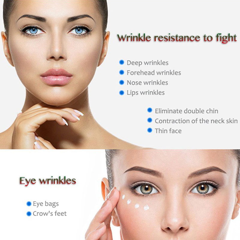 Ultrasound HIFU Wrinkle Removal Device Face Lifting Skin