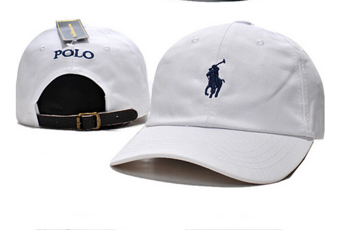 Pony Polo Adjustable Leather Strap Back Fine Embroidery Baseball ... e8f37d2f066