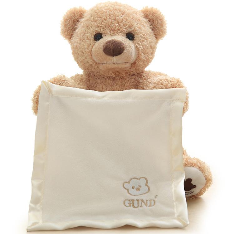 Peek A Boo Teddy Bear Toddler Kids Children Play Soft Toy Plush Blanket NEW