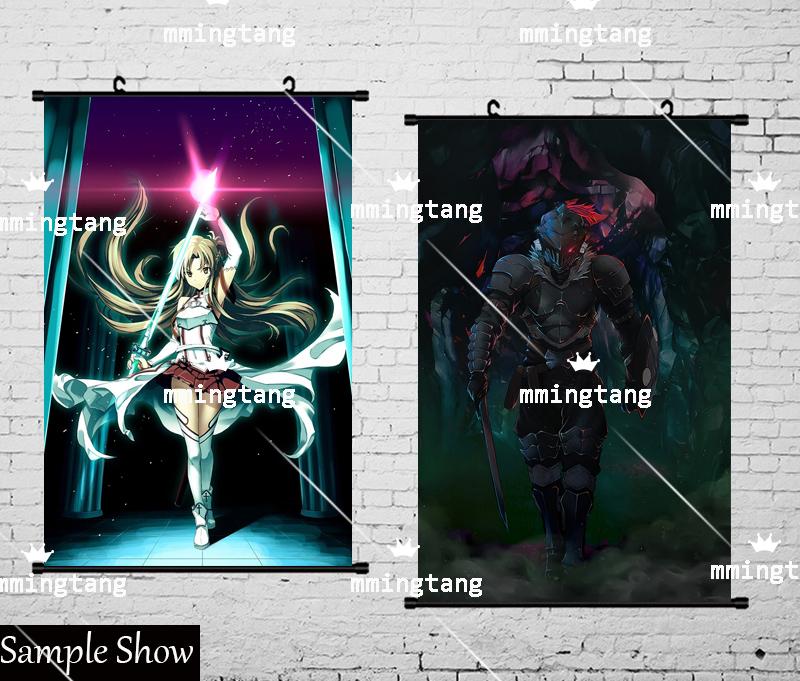 Anime Taimanin Asagi Poster Wall Scroll Home Decor gift cosplay 60*90CM#HB-10