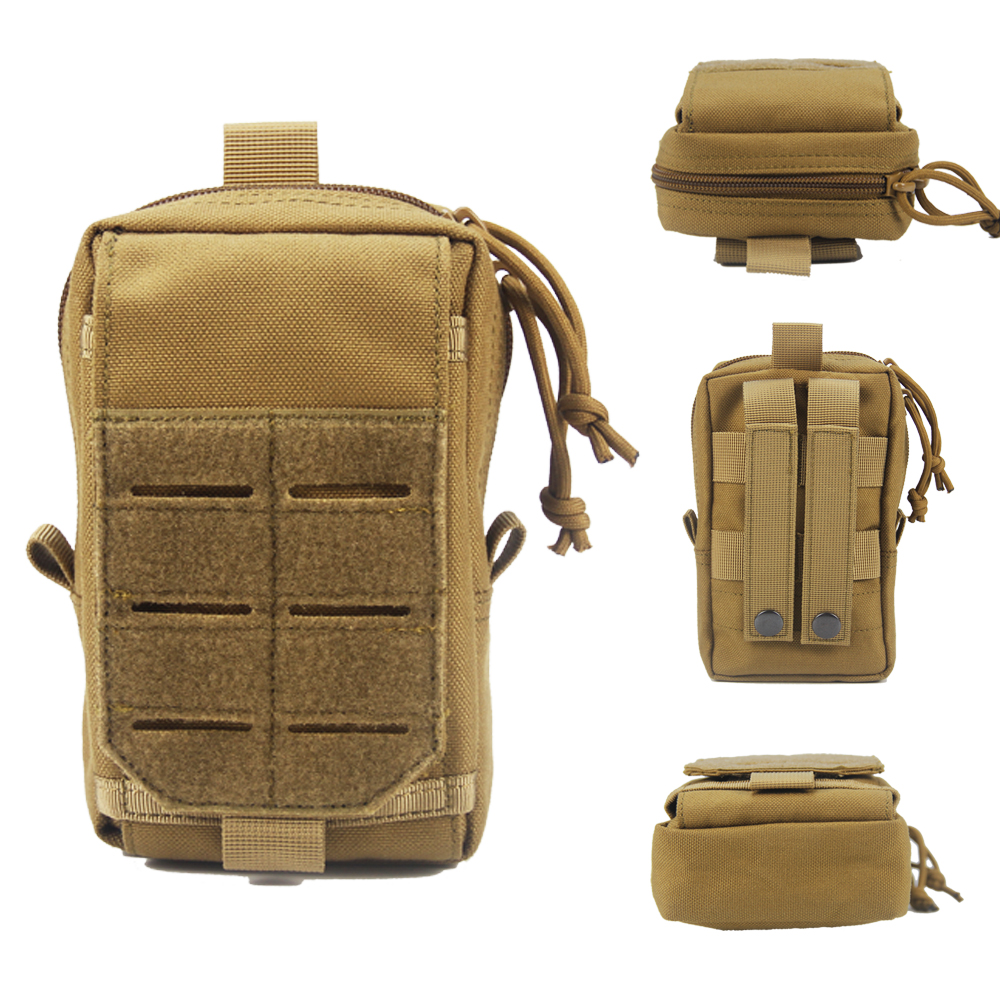 Tactical Pouch Belt Waist Fanny Pack Bag Military Hiking Camp Phone Pocket
