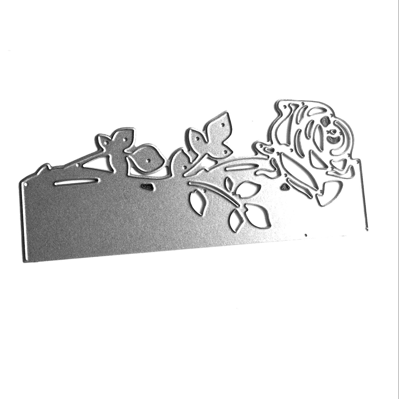 8 IN 1 Metal Leaves Cutting Dies Cut Stencils DIY Scrapbooking Albums Embossing