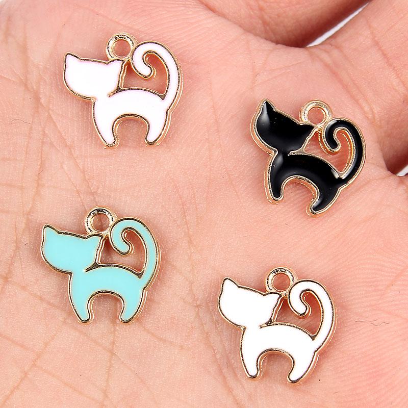 10PC DIY Cute Lamb Pendants Charms Jewellery Accessories DIY Findings Crafts