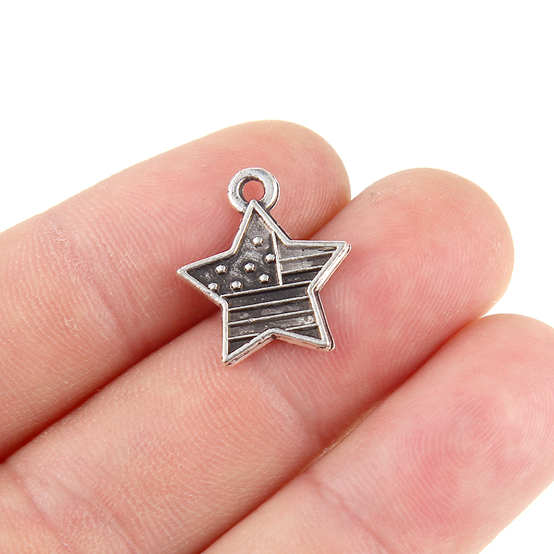 10x Lighthouse Shaped Pendant Charms 10Pcs Tibetan Silver Beads 27*11mm