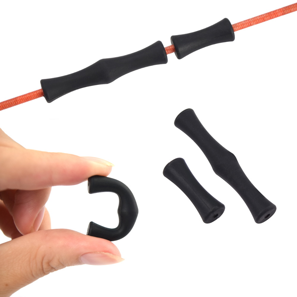 Silicone Archery Bowstring Finger Protector Quick Shot Saver for Compound Bow