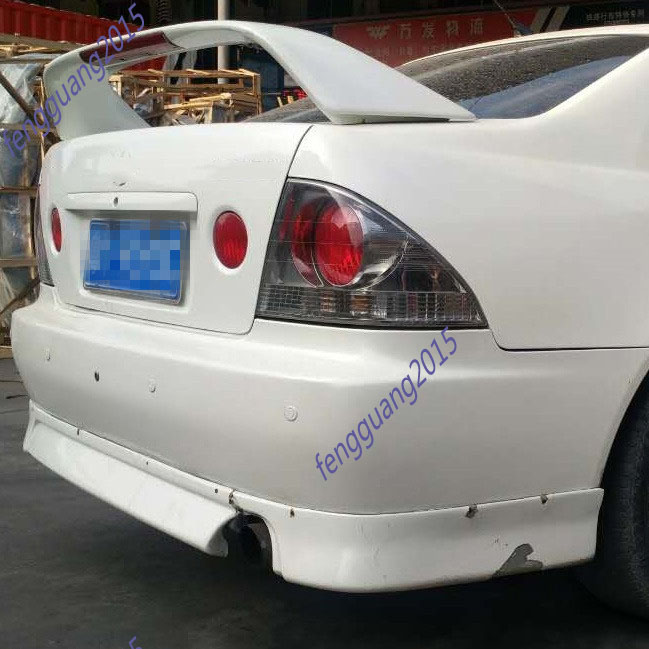 Lexus IS200 IS300 Altezza Rear Boot Trunk Spoiler Ducktail Wing Boot Lid Lip