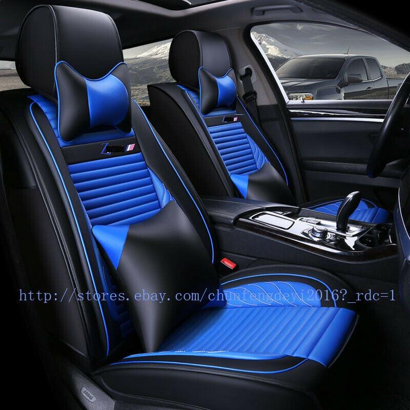 Audi A6 C5 C6 C7 1998-2018 Leather Set Car Seat Cover Front /& Rear Set