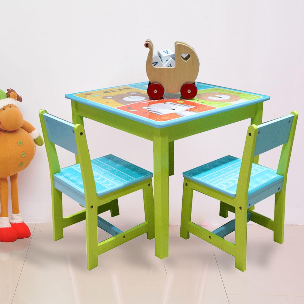 Kindersitzgruppe Kindermöbel Set Stuhl Tisch Maltafel