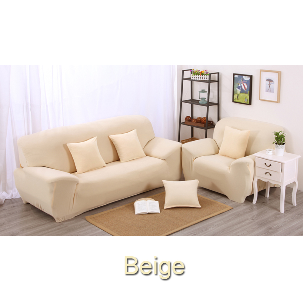 New Slipcover Stretch Sofa Cover Sofa With Loveseat Chair: Toyswill L Shape Stretch Chair Sofa Cover 1 2 3 Seater