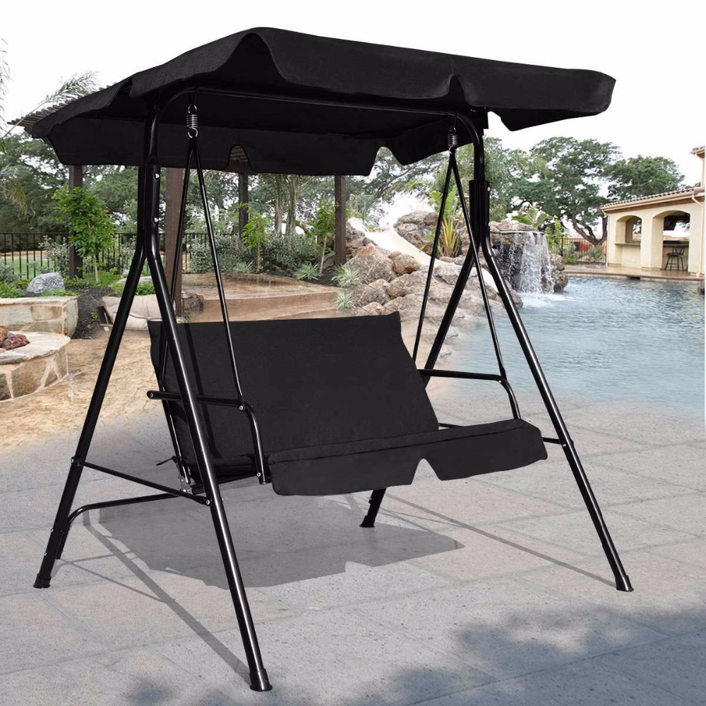 Patio Swing Chair Top Canopy Backrest Cushion Replacement