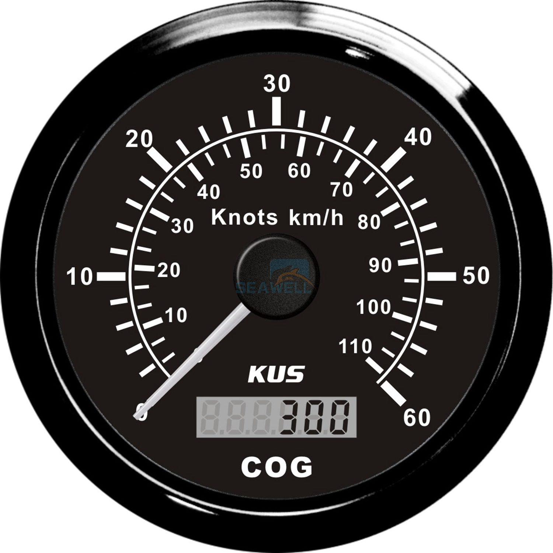 Kus Autometer Gps Boat Speedometer Gauge Marine Gps
