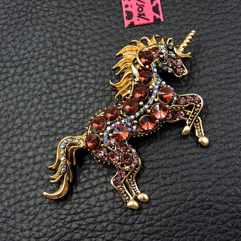 Pin By Crystal Johnson On Baldwin Hills Dam Break: Rhinestone Pink Unicorn Horse Fashion Crystal Betsey