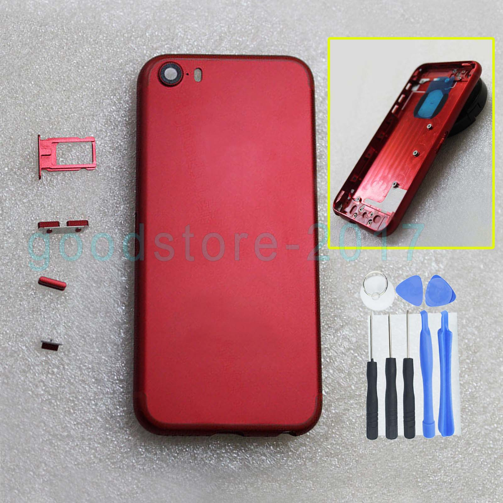 New Grade A Special Red Edition Metal Rear housing Replacement For ...