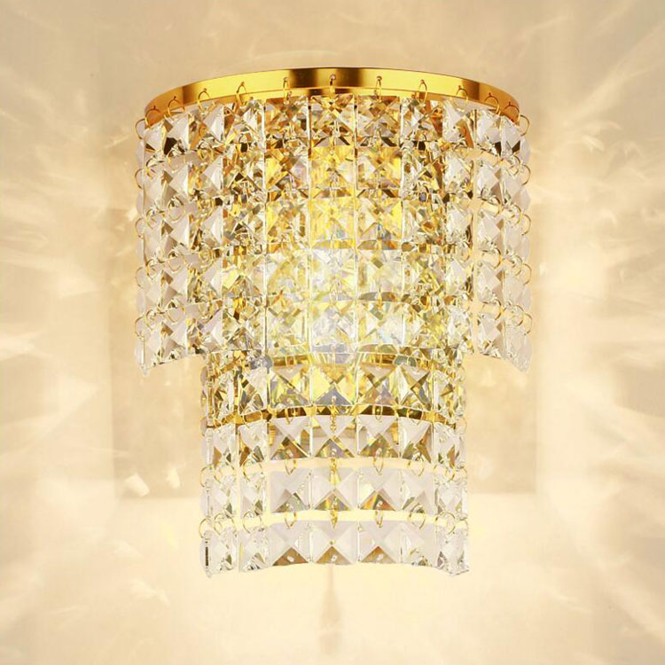 Crystal Wall Sconce With Switch : Modern Crystal Wall Light BedSide Corridor Lamp Sconce Lighting Fixture 9479HC eBay