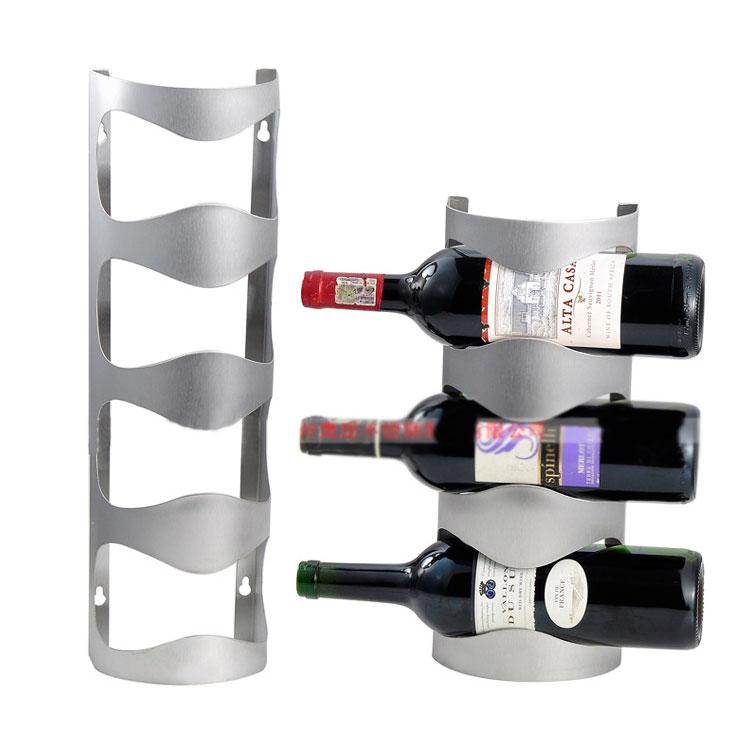 Wall Mounted Wine Racks Bar Decor
