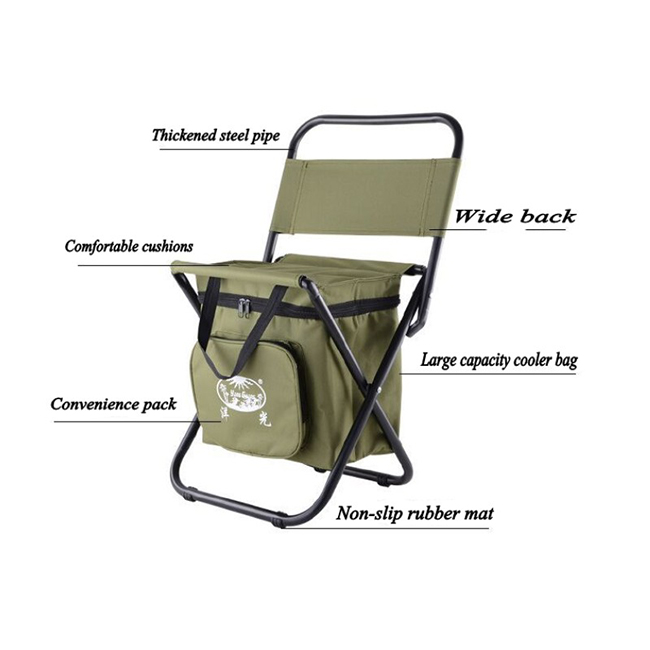 New Folding Camping Fishing Chair Stool Seat Portable