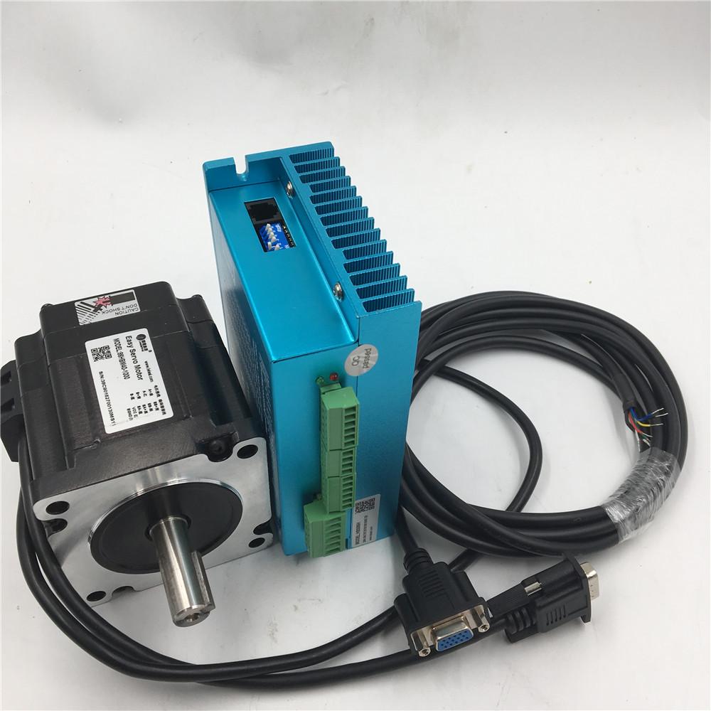 Nema34 8n m stepper motor closed loop 2ph hybrid servo for Stepper motor kits cnc