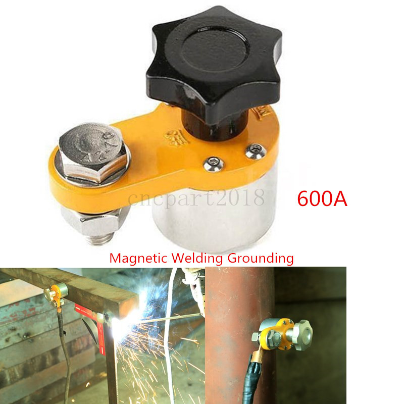 300A Magnet Welding Ground Clamp Neodymium Magnetic Welder Connector Device