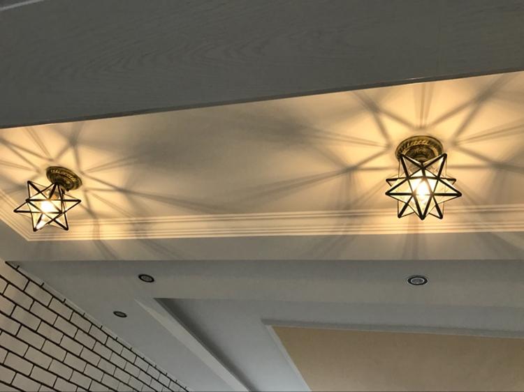 Modern star lighting ceiling light wall lamp glass chandeliers modern star lighting ceiling light wall lamp glass chandeliers ceiling fixtures aloadofball Images