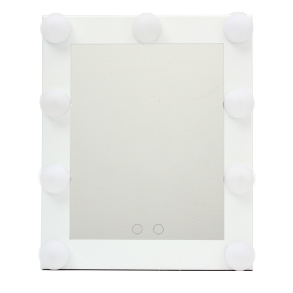 Vanity Light Dimmer : LED Bulb Vanity Lighted Hollywood Makeup Mirror with Dimmer Stage Beauty Mirror