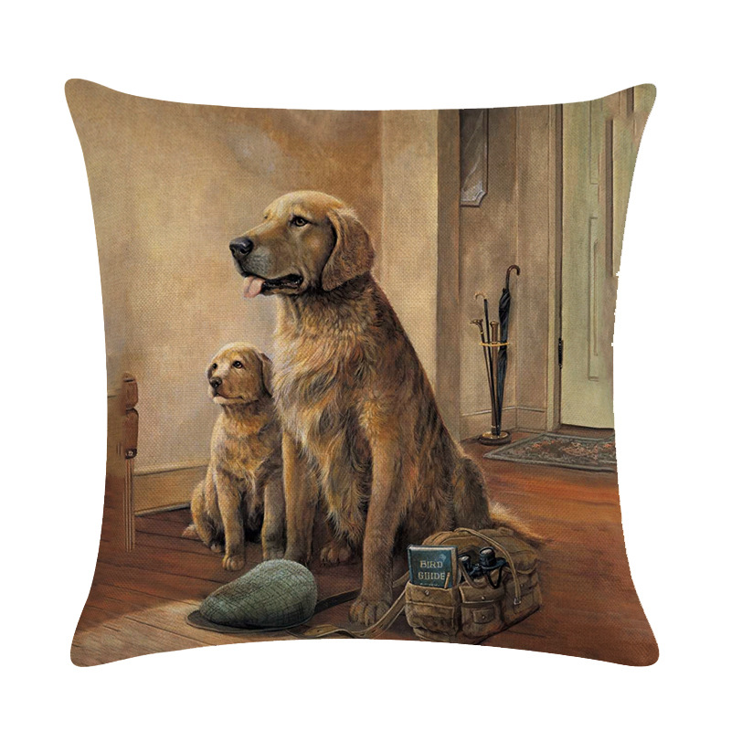 Brilliant Details About Autumn Home Car Decorative Wild Goose Couch Cushion Cover Animal Dog Pillow Case Ncnpc Chair Design For Home Ncnpcorg