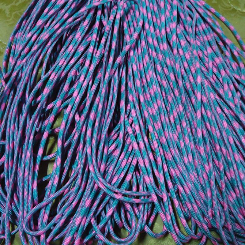 HOT 25//50//100//300FT 550 Paracord Rope 7 strand Parachute Cord CAMPING HiKING