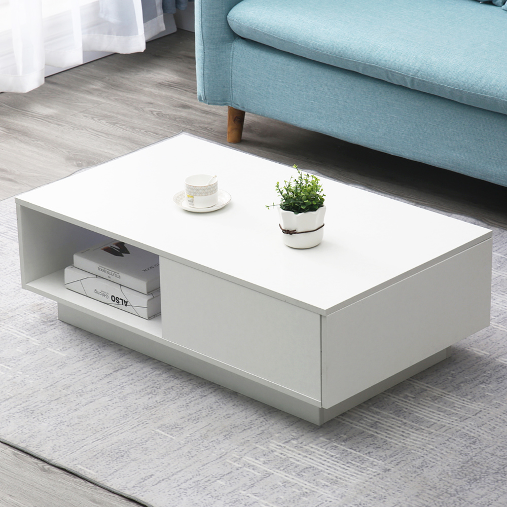Modern Teapoy Multifunctional LED Coffee Tea Table Living ...
