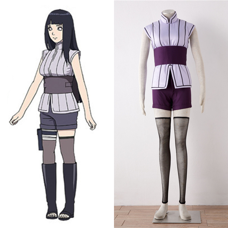 Anime BORUTO THE LAST Hyuuga Hanabi Cosplay Costume Women ...