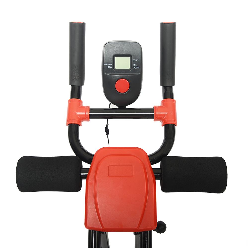 Ab Cruncher Abdominal Trainer Glider Machine Body Fitness Waist Power Exercise 6