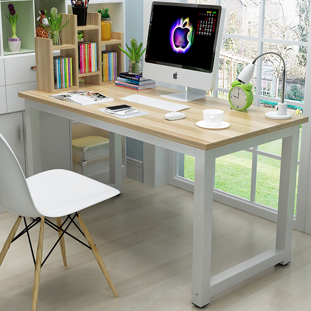 Details about Computer Desk Office Laptop Wooden PC Writing Table Function  Bedroom Furniture