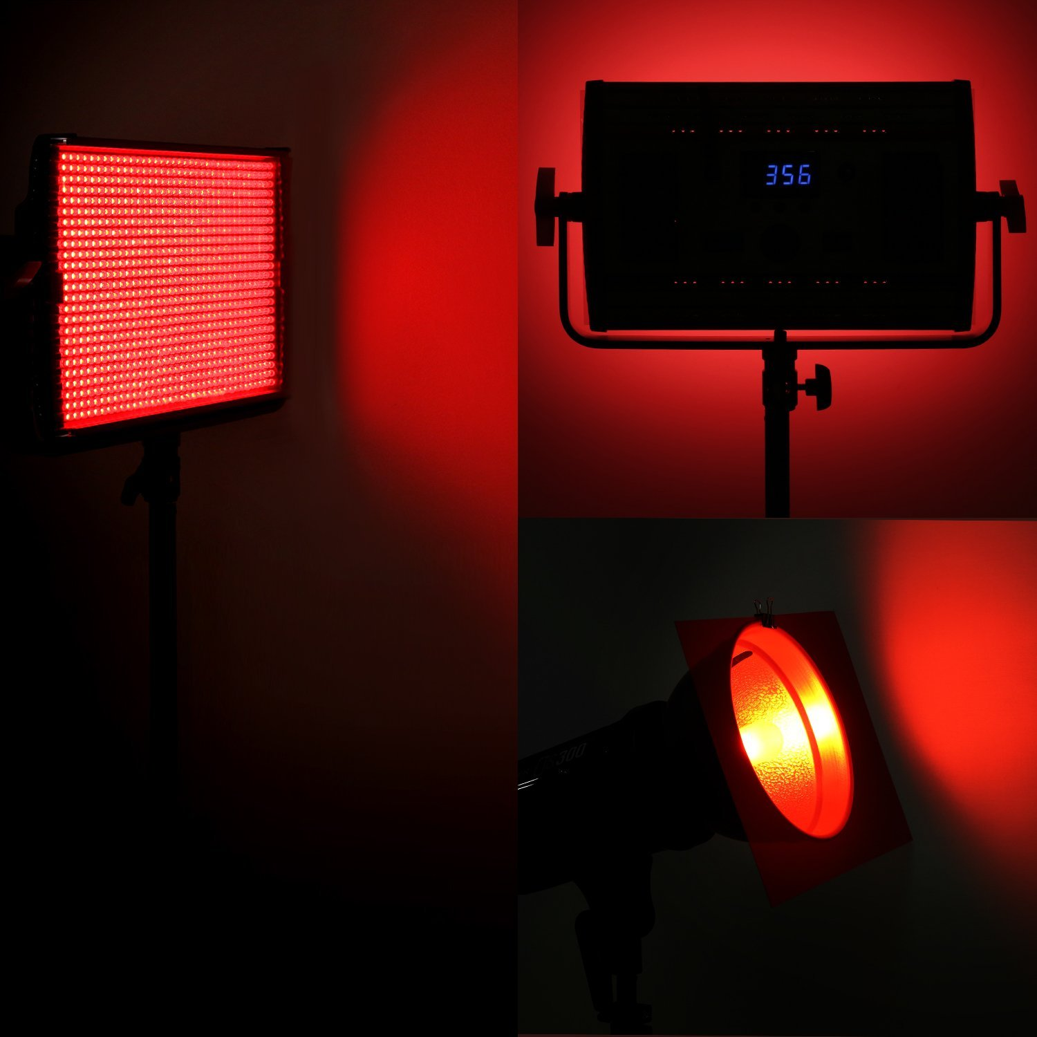 12x12 red high temperature resistant gel filter for studio strobe 12x12 red high temperature resistant gel filter for photo studio strobe flash light and led light arubaitofo Image collections